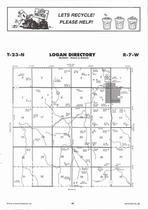 Logan Township, Elgin, Directory Map, Antelope County 2006